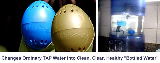 Change Ordinary Water Into a Clean, Clear Healthy Water
